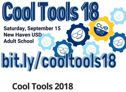 East Bay CUE's Cool Tools for Learning